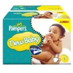 PAMPERS TAILLE 1 NEWBABY LOT BABYDIRECT
