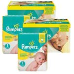 PAMPERS TAILLE 1 newbaby lot