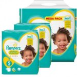 babydirect 141 couches couches pampers Taille 5