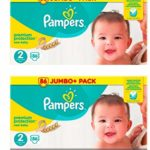 babydirect 172 couches pampers Taille 2 premium