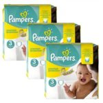 babydirect 240 couches pampers taille 3 premium