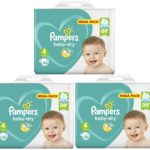 pampers taille 4 BABYDRY 258 couches babydirect