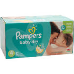 promodirect 220 couches pampers taille 4 babydry