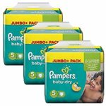 promodirect 234 couches pampers taille 5 babydry
