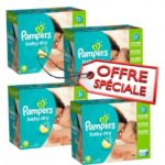 promodirect 264 couches pampers taille 4 babydry