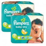 BABYDIRECT 232 COUCHES TAILLE 3 PAMPERS BABYDY