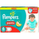 Promodirect 128 couches pampers taille 6 pants