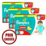 promodirect 105 couches pampers taille 6 pants