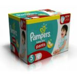 promodirect 120 couches pampers taille 5 pants