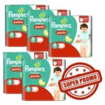 promodirect 126 couches pampers taille 6 pants