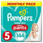 promodirect 144 couches pampers taille 5 pants