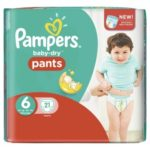 promodirect 21 couches pampers taille 6 pants