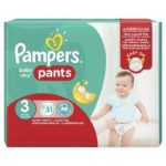 promodirect 31 couches pampers taille 3 pants