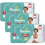 promodirect 40 couches pampers taille 3 pants