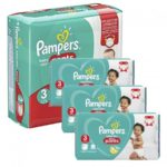 promodirect 48 couches pampers taille 3 pants