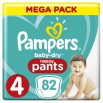 Promodirect 84 couches pampers taille 4 pants babydry