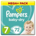 Promodirect 72 couches taille 7 pampers babydry