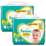 promodirect 156 couches pampers taille 4 premium protection